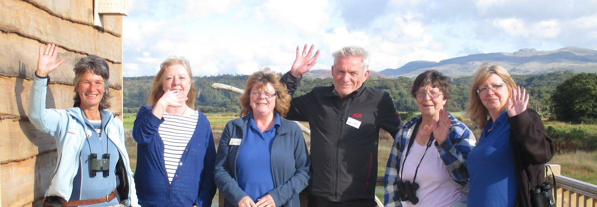 End of season group photo as volunteers bid farewell