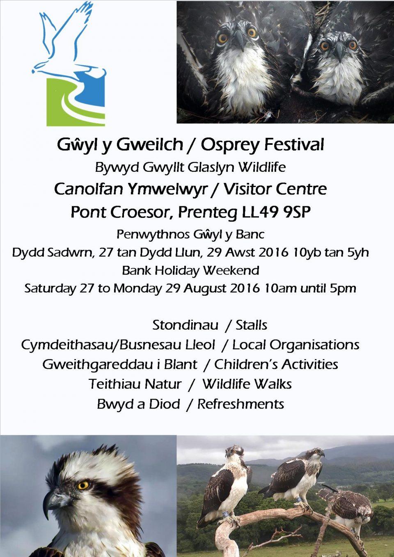 BGGW Gwyl y Gweilch 2016 Poster