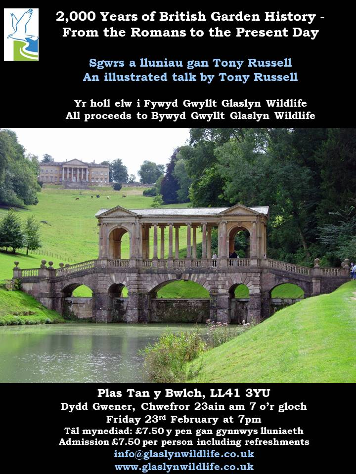 BGGW - Tony Russell Talk 2000 Years of Gardens