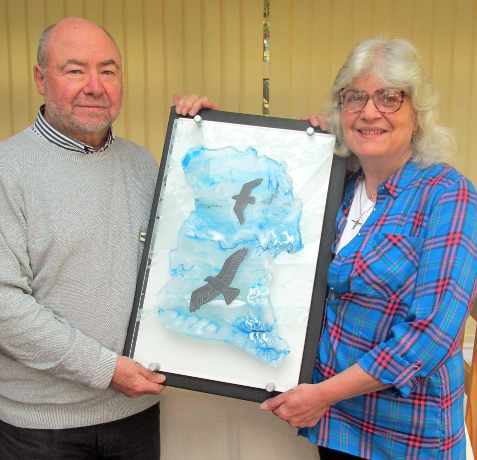 PRESENTATION OF GLASLYN OSPREY RAFFLE PRIZE 2018 (2)